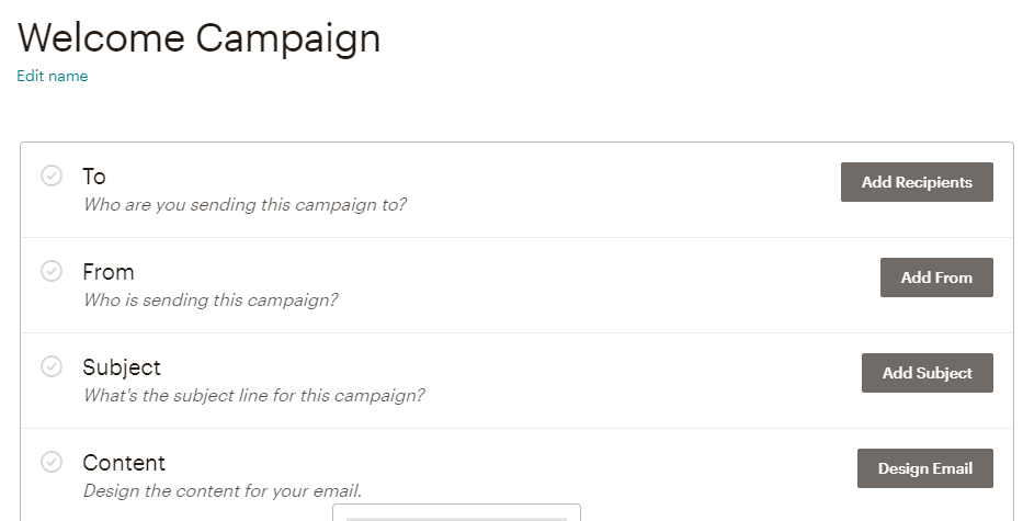 Campaign setting